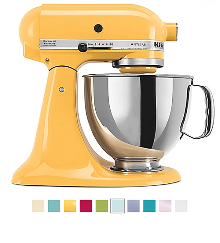 Buttercup KitchenAid Mixer Giveaway | The Bearfoot Baker