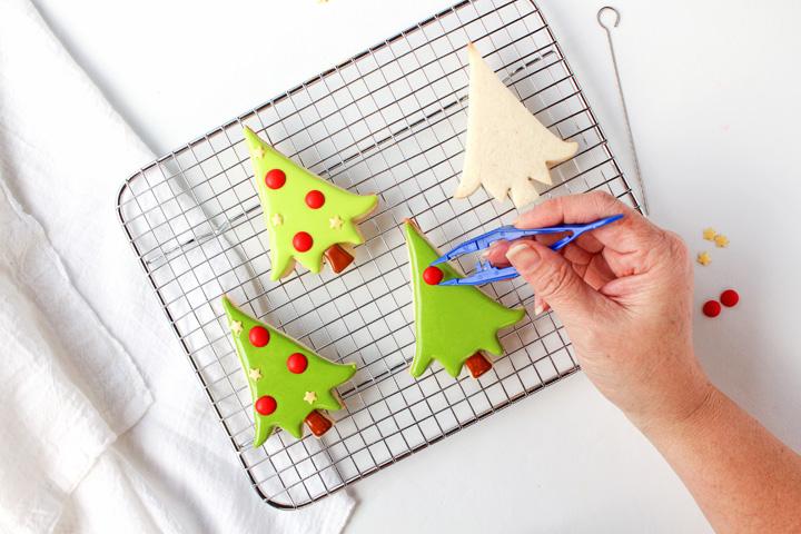 How to Make Fun Christmas Tree Cookies | The Bearfoot Baker