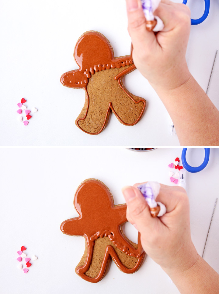 How to Make These Fun Little Gingerbread Men Cookies | The Bearfoot Baker