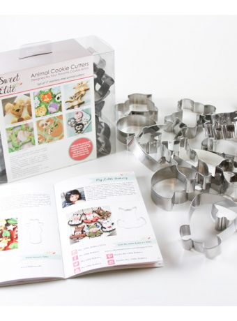 Animal Cookie Cutter Set for Charity - Giveaway