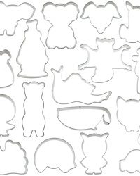 Animal Cookie Cutters for Charity