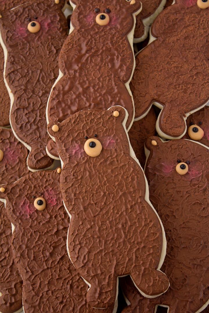 Bear Cookie Cutter by The Bearfoot Baker