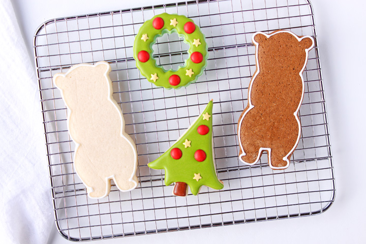 How to Make Fun Decorated Bear Cookies | The Bearfoot Baker