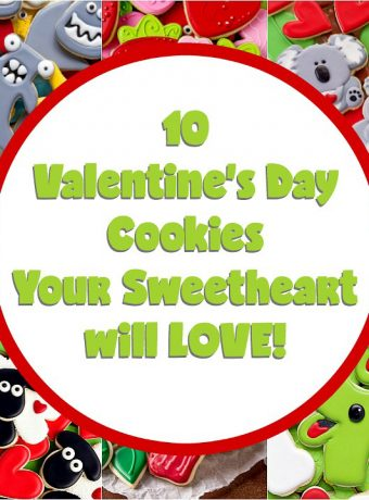 10 Valentine's Day Cookies Your Sweetheart will LOVE | The Bearfoot Baker