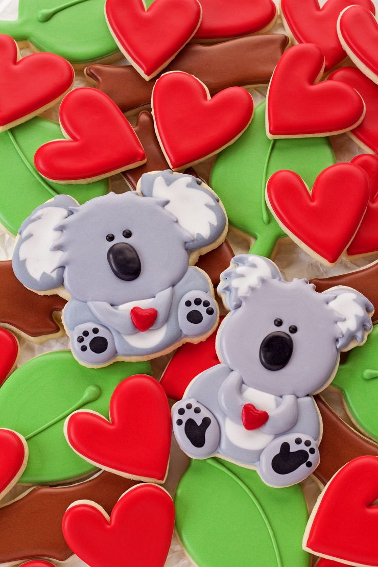 10 Valentine's Day Cookies Your Sweetheart will Love-You Have Great KOALA-Tees! | The Bearfoot Baker