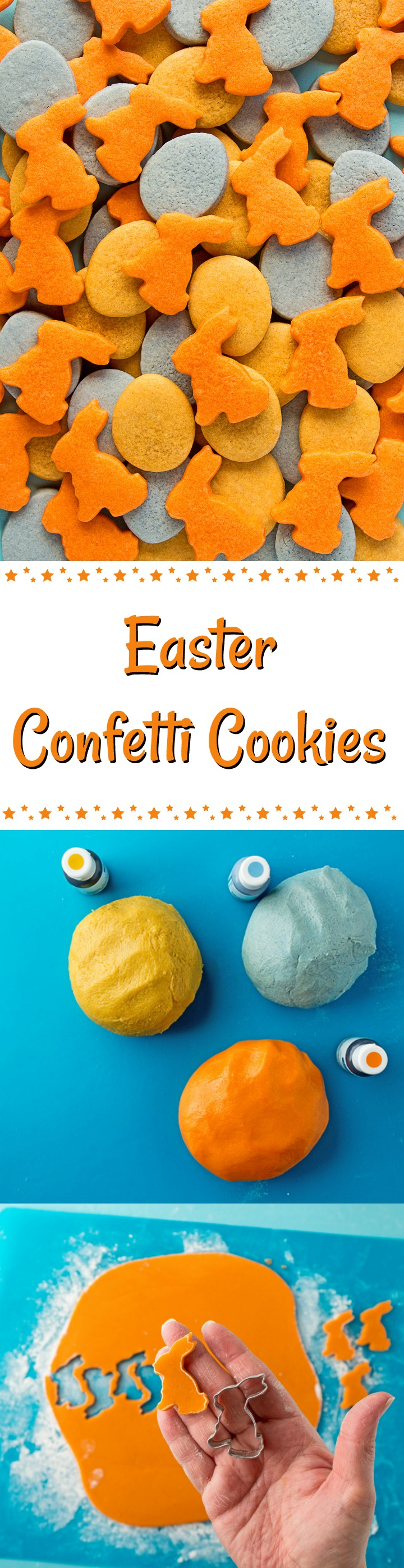 How to Make Fun Awesome Little Easter Confetti Cookies | The Bearfoot Baker