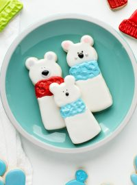 How to Make Fun Simple Polar Bear Sugar Cookies | The Bearfoot Baker