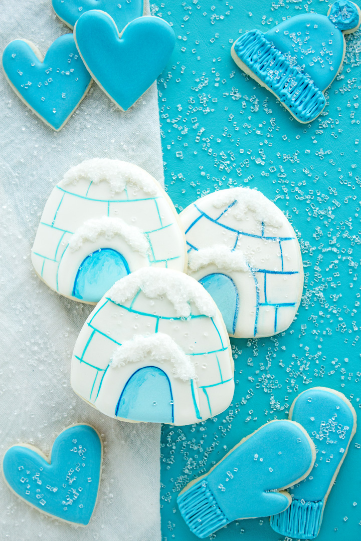 Igloo Cookies That Will Make You Have a Happy Heart | The Bearfoot Baker