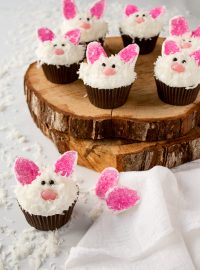 How to Make Cute Bunny Cupcakes | The Bearfoot Baker