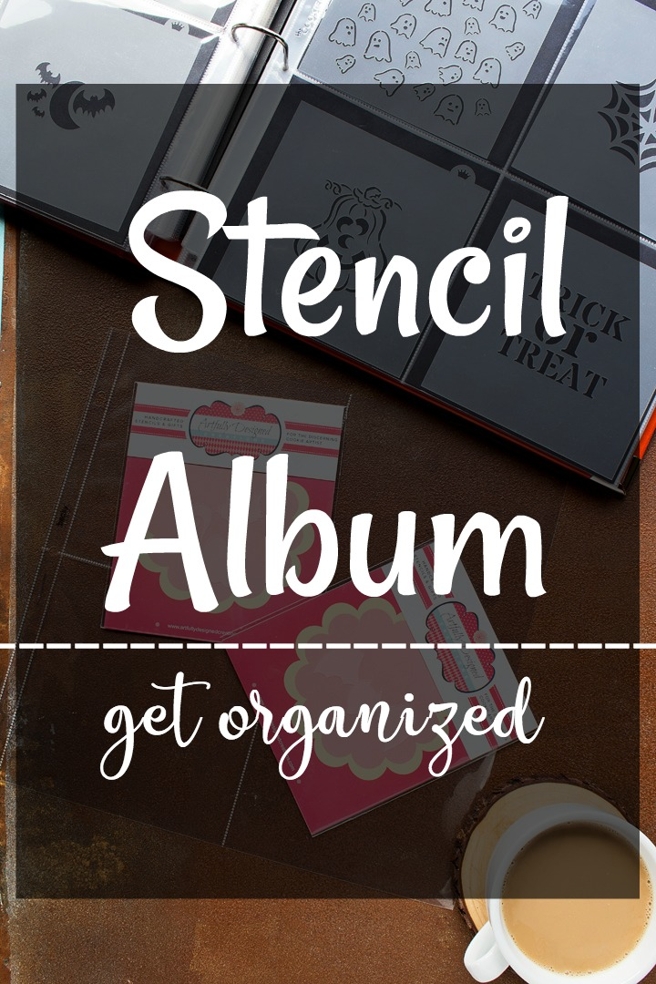 How to Organize Your Cookie Stencils with a Cute Album | The Bearfoot Baker