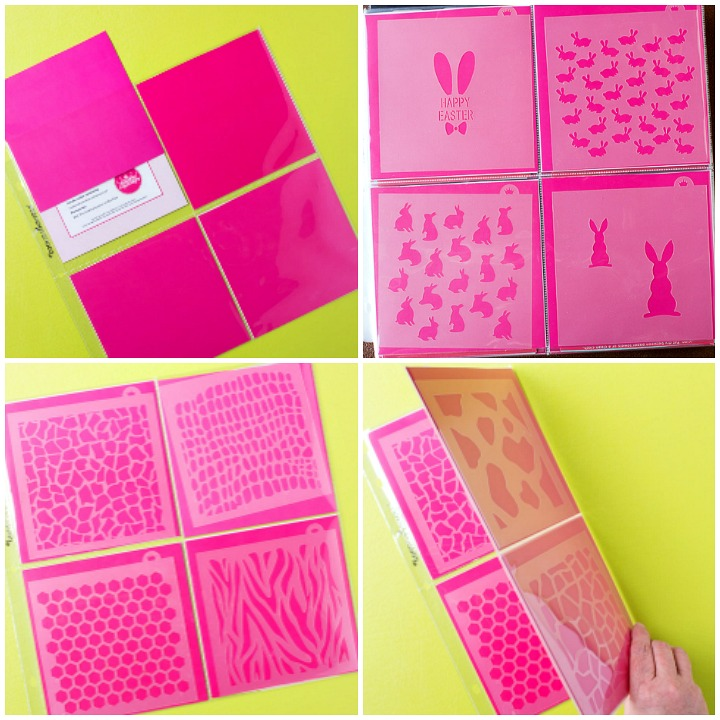 How to Organize Your Cookie Stencils with a Stencil Album | The Bearfoot Baker