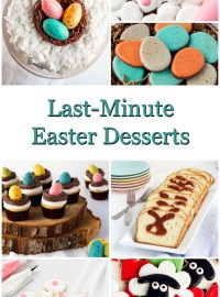 Last-Minute Easter Desserts-You still have time to Make them | The Bearfoot Baker