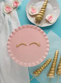 How to Make Fondant Details for Unicorn Cakes | The Bearfoot Baker