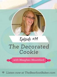 #14 The Decorated Cookie Meaghan Mountford | The Bearfoot Baker
