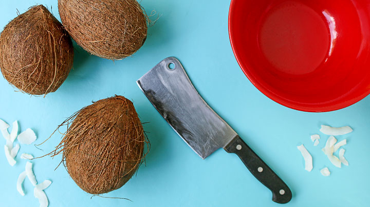 Make a Simple Coconut Bowl | The Bearfoot Baker