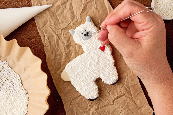 Fun Llama Cookies | The Bearfoot Baker