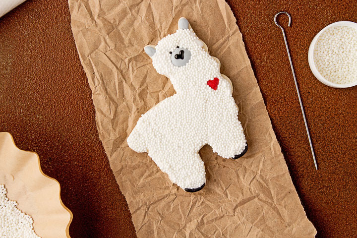 How to Make Fun Little Llama Cookies | The Bearfoot Baker