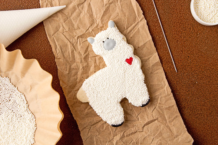 Llama Cookies | The Bearfoot Baker