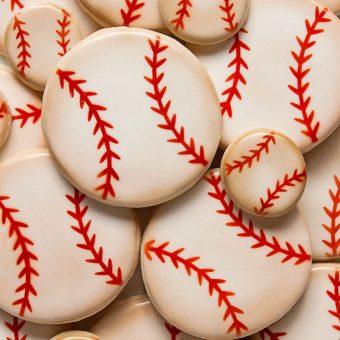How to Make Fun Baseball Cookies | The Bearfoot Baker