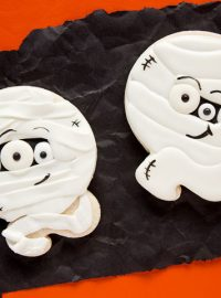 Frightening Mummy Cookies Spine-Chilling for Halloween | The Bearfoot Baker
