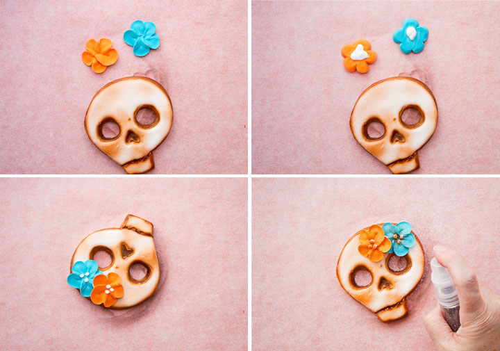 Wicked Skull Cookies | The Bearfoot Baker