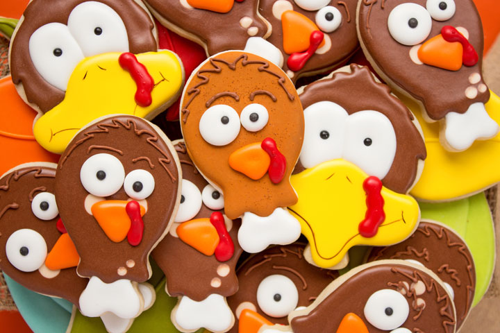 Fun Turkey Leg Cookies | The Bearfoot Baker