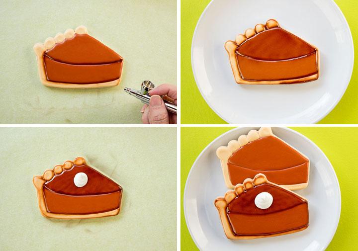 How to Make Easy Pumpkin Pie Slice Cookies   The Bearfoot Baker