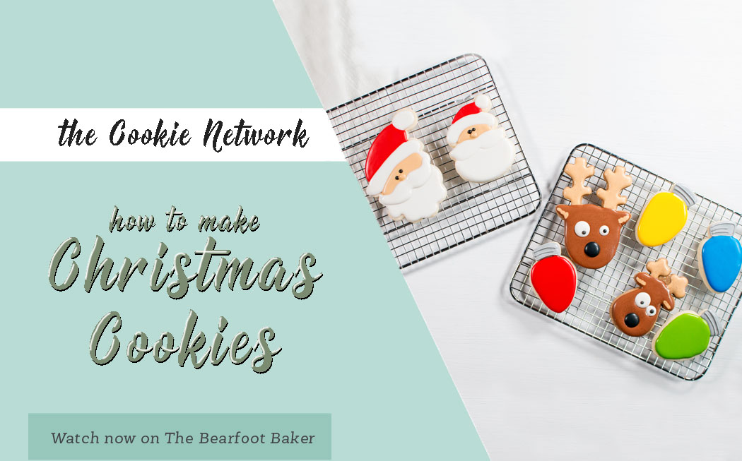 The Cookie Network- How to Make Christmas Cookies | The Bearfoot Baker