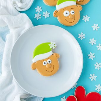 How to Decorate Simple Little Elf Cookies | The Bearfoot Baker