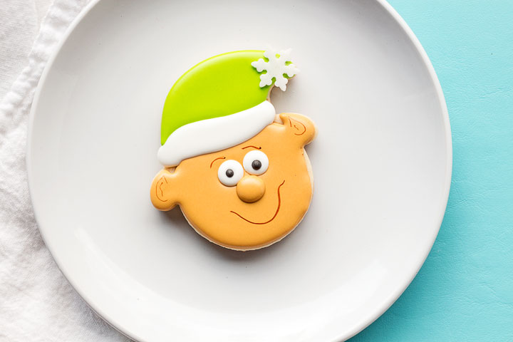 Simple Little Elf Cookies | The Bearfoot Baker