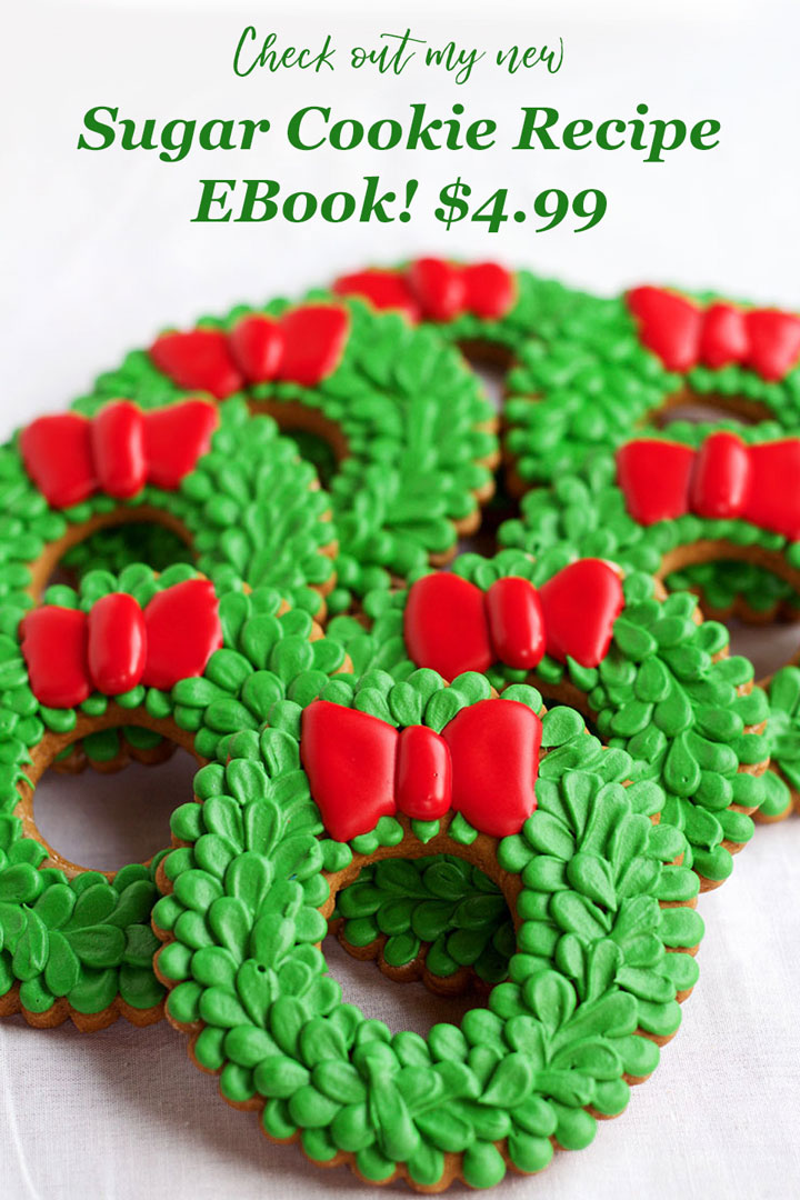 Sugar Cookie Recipe Ebook Gift Ideas for Under $35 | The Bearfoot Baker
