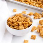 Caramel Chex Mix Recipe | The Bearfoot Baker