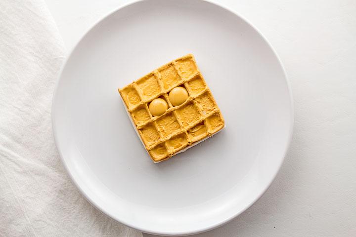 Make Waffle Valentine's Cookies   The Bearfoot Baker
