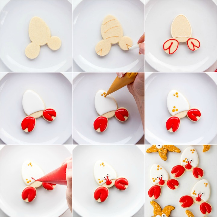 How to Make Fun Simple Crab Cookies | The Bearfoot Baker