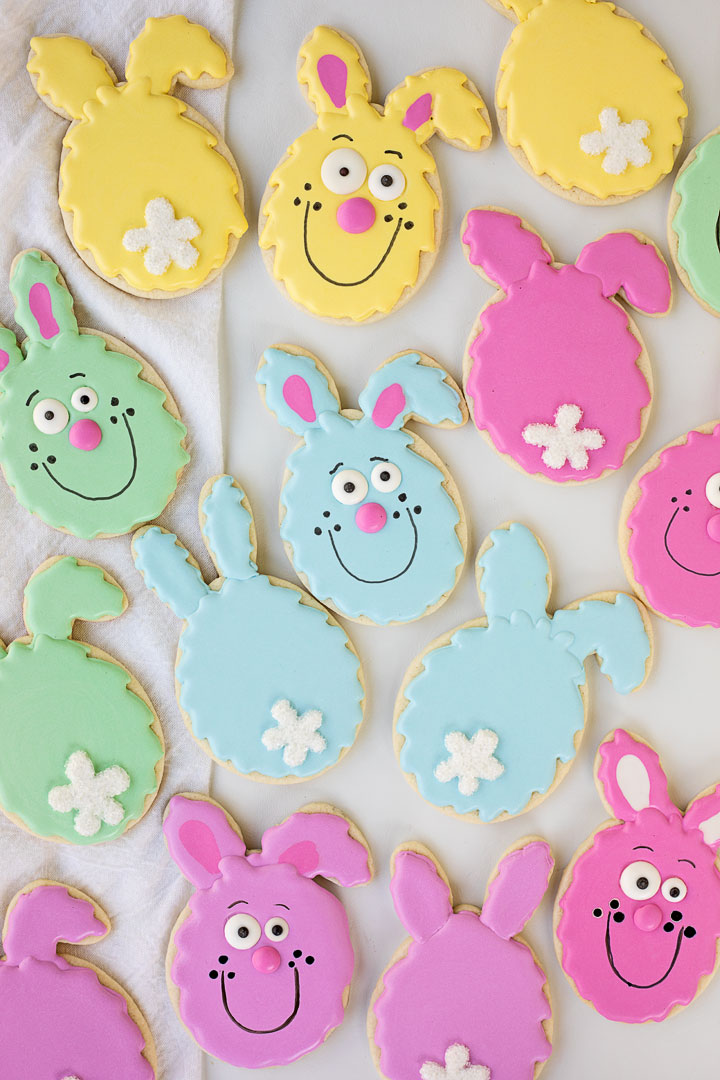 Easter Egg Cookies You Can Make Yourself | The Bearfoot Baker