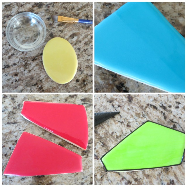 How to Make A Beautiful Stained Glass Cookie Platter By The Partilolgist | The Bearfoot Baker
