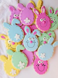 How to Make Easter Egg Cookies | The Bearfoot Baker
