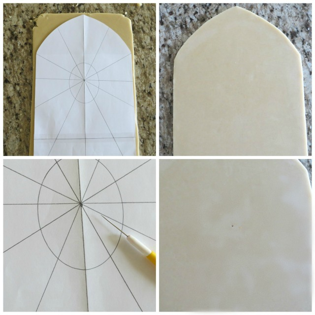 How to Make and Decorate A Stained Glass Cookie Platter | The Bearfoot Baker