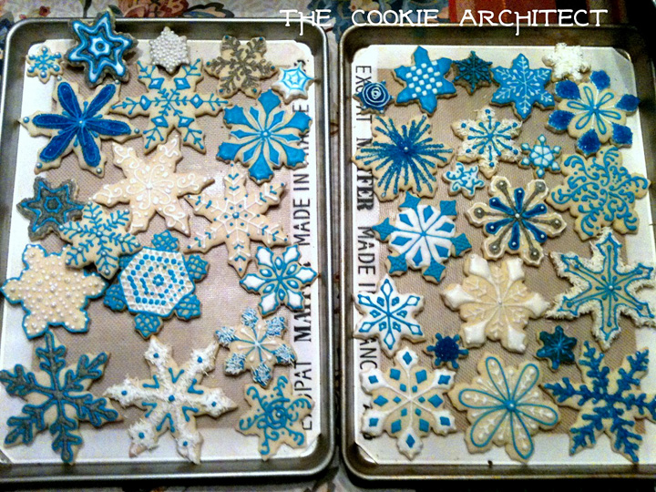 #24 The Cookie Architect Snowflake Cookies | The Bearfoot Baker