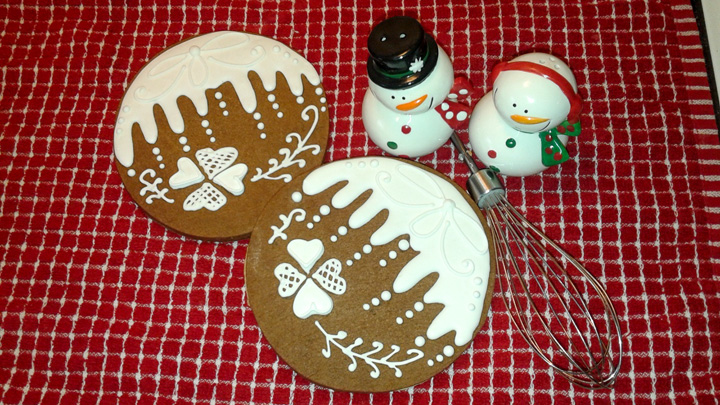 Christmas Cookies with White Icing with Melissa Blake | The Bearfoot Baker
