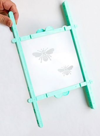 How to Assemble This Amazing Sugarbelle Stencil Snap to Hold Your Stencils | The Bearfoot Baker