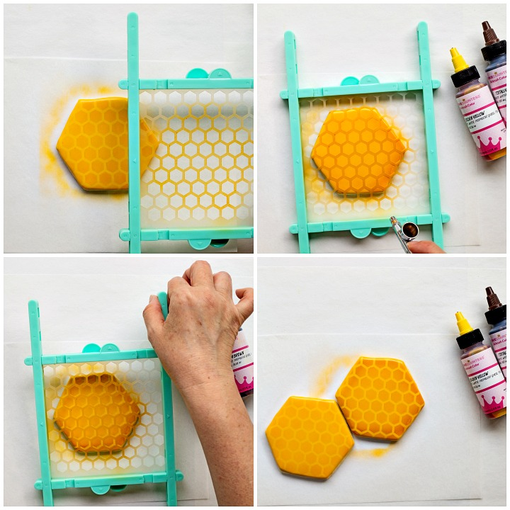 How to Make Happy Little Bee Cookies with a Video | The Bearfoot Baker
