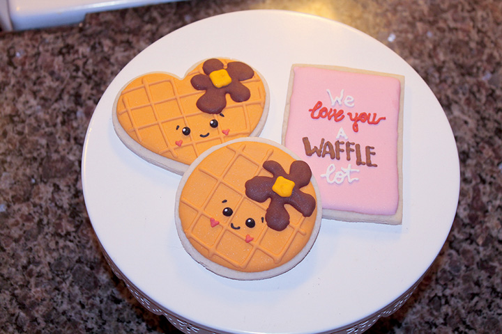 Waffle Cookies by Melissa Blake | The Bearfoot Baker