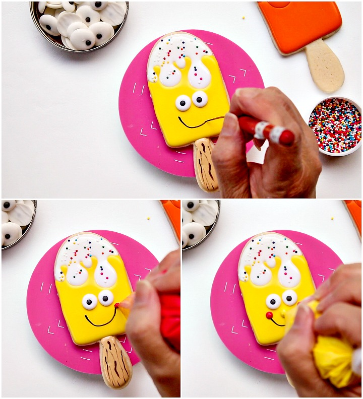 Happy Birthday You Super Cool Pop Popsicle Cookies | The Bearfoot Baker