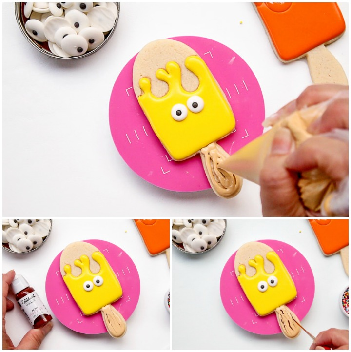 Happy Birthday You Super Cool Pop - Simple Cookies | The Bearfoot Baker