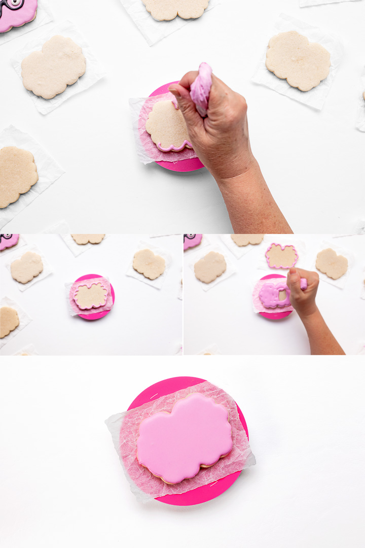 Do You Want to Know How to Make Cute Happy Brain Cookie | The Bearfoot Baker