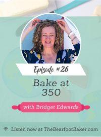 Bridget Edwards from Bake at 350