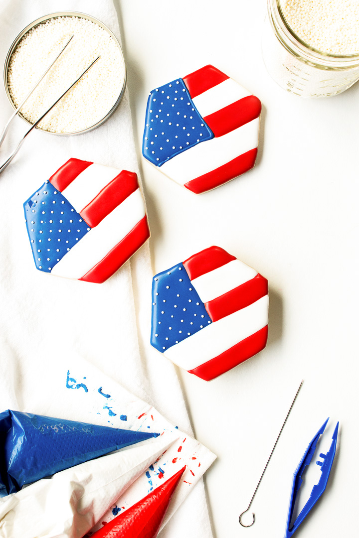 Cookies for July Fourth
