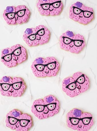 Let's Make a Happy Brain Cookie | The Bearfoot Baker
