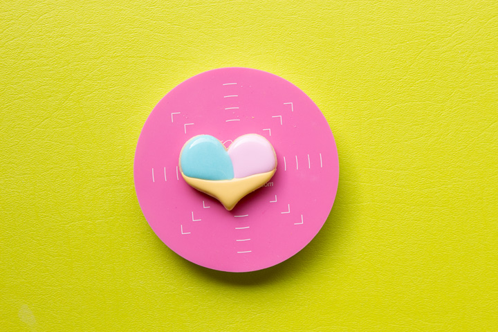 How to Make Happy Little Heart Ice Cream Cone Cookies | The Bearfoot Baker